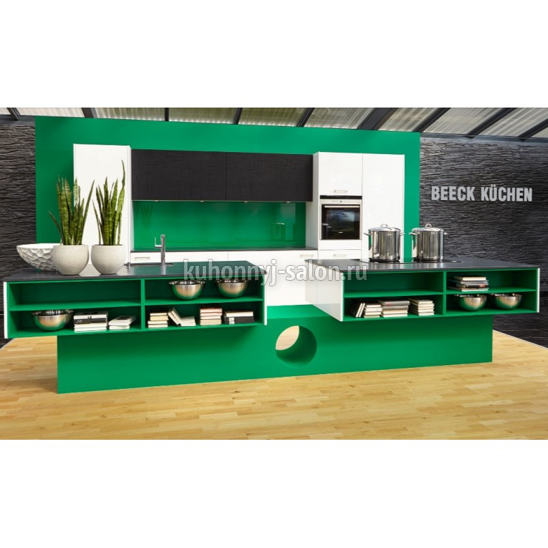 Кухня Beeck KRISTALL/FLASH